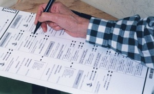 Filling in a Ballot